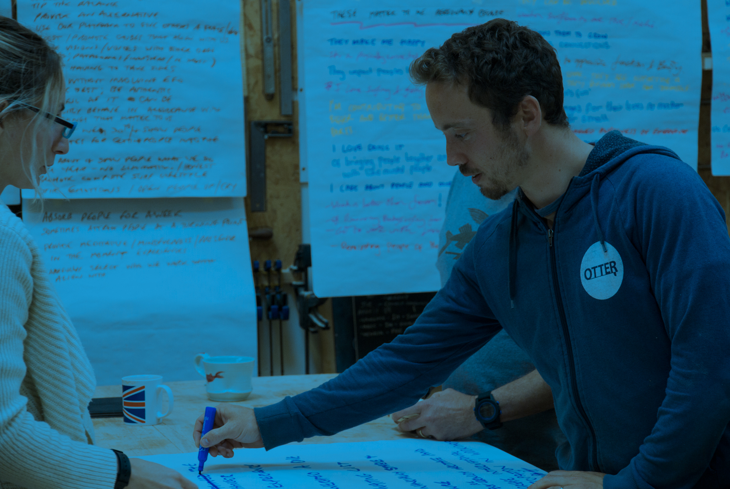 A Purpose and Vision workshop with Otter Surfboards